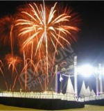 fireworks from various events Created By  Posted By Qatar Vision