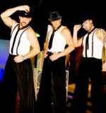 Gangsters Stilt Walkers Created By Omar Blawny Posted By Blawni Events