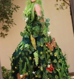 Enchanted Garden Poison Ivy Stilt Walker Created By Omar Blawny Posted By Blawni Events