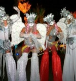 Fallen Angels Stilt Walkers Created By Omar Blawny Posted By Blawni Events