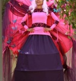 Enchanted Garden Stilt Walkers Created By Omar Blawny Posted By Blawni Events