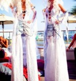 Ice Queens Stilt Walker Created By Omar Blawny Posted By Blawni Events