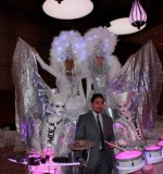 Qatar with Desert Ice parade Stilt Walkers Created By Omar Blawny Posted By Blawni Events