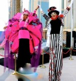 The Grand Parade Stilt Walker Created By Omar Blawny Posted By Blawni Events