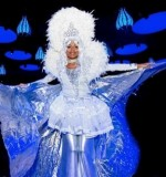 Snow Queen stilt walker Created By Omar Blawny Posted By Blawni Events
