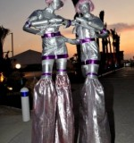 Spaced Out Stilt Walker Created By Omar Blawny Posted By Blawni Events