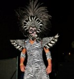 Walking Zebras Stilt Walker Created By Omar Blawny Posted By Blawni Events