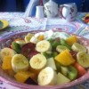 Fruit salad and natural yogurt Created By  Posted By JG Sandwich Cellar