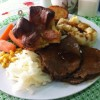 Sunday Roast Beef and Yorkshire Pudding Created By  Posted By JG Sandwich Cellar