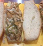 Fajita on bread Created By  Posted By Uncle Chbaro