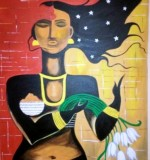 'A young married woman' 24x32 inches. Acrylic on canvas Created By Ruma Sinha Posted By Essence de Feminite