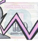 Yugoslavia Banknote Art Created By Sdého Posted By Sdeho Original Finest Banknotes Art