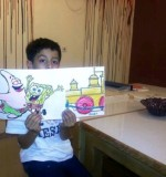 Painting Made by Kids Created By Arts & Crafts Doha Posted By Creative Kids Qatar