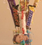 Chocolate Bar Bouquet small Created By Basket Of Joy Posted By Basket of Joy