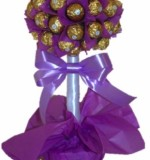 Ferrero Rocher Tree Purple Created By Basket Of Joy Posted By Basket of Joy