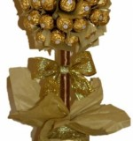 Ferrero Rocher Tree Gold Created By Basket Of Joy Posted By Basket of Joy