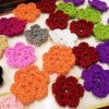 Crochet flowers Created By  Posted By N Studio