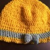Crochet Yellow cap Created By  Posted By N Studio
