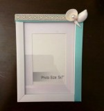 Sea Shell Picture Frame Created By Anastassiya Posted By The Hobby Room