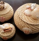 Sea Shells and Wicker Decor Created By Anastassiya Posted By The Hobby Room