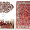 Fine Oriental Rug 16192 toudeshk Nin from central persia 2nd quarter of 20 th century  211 x 140 cm.