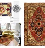 Geometric Antique persian carpets ,  00037 serapy  from north west persia second half f 19th century370 x 302 cm - lot No16124 tabriz from north west persia 2nd quarter of 20th century. Created By Sameyeh Posted By Sh.Sameyeh Pte Ltd