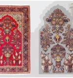 Pray design Oriental rugs, lot no. 16181  kashan from central persian 2nd quarter of 20th century  205 x 131  ready to use. Created By Sameyeh Posted By Sh.Sameyeh Pte Ltd