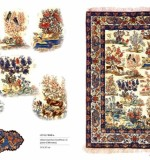 FINEST COLLECTABLE PERSIAN CARPETS, LOT NO. 16140 ISFAHAN FROM CENTRAL PERSIA WOVEN BY MASTER WEAVER Mr. Emami 1st quarter of 201th century 217 x 157 cm antique collectable example. Created By Sameyeh Posted By Sh.Sameyeh Pte Ltd