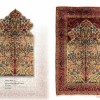 Decorative Pray persian capets,  LOT NO. 16174 Raver kirman from south persia 1st. half of 20th century 236 x 153 cm  ( decorative example  )