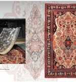 Museum level persian carpets LOT NO. 16262 ANTIQUE YAZED FROM SOUTH PERSIA MID 19TH CENTURY  197 X 127 CM  COLLECTABLE EXAMPLE. Created By Sameyeh Posted By Sh.Sameyeh Pte Ltd