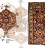 Collectable caucasus example,  LOT NO. 16304 SHIRWAN FROM CAUCASUS 4 TH QUARTER OF 20TH CENTURY 230 X 120 CM  COLLECTABLE EXAMPLE READY TO USE Created By Sameyeh Posted By Sh.Sameyeh Pte Ltd