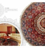 Round fine quality Oriental Rugs Lot No 16286 Tabriz from north west persia 2nd quarter of 20th century 3.00 x 3.00 cm Created By Sameyeh Posted By Sh.Sameyeh Pte Ltd