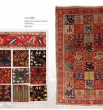 Collectable Oriental Carpets Lot No. 16135 Bakhtiary from central persia  2nd quarter of 20th century  302 x 222 cm Created By Sameyeh Posted By Sh.Sameyeh Pte Ltd