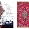 FINE DECORATIVE EXAMPLE, LOT NO. 16076 ISFAHAN FROM CENTRAL PERSIA WOVEN BY MASTER WEAVER MR. HEKMATNEJAD 2ND QUARTER OF 20TH CENTURY.162 X 109 CM READY TO USE. Created By Sameyeh Posted By Sh.Sameyeh Pte Ltd