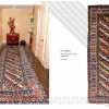 CAUCASIAN oriental Rugs , LOT No.00208  talesh from caucasus first quarter of 20 th century 315 x 125 cm
