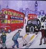 London Snow Created By Phil Lewis Posted By Maher & Valentino