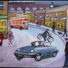 Lotus Elan Buses Street Scene Created By Phil Lewis Posted By Maher & Valentino