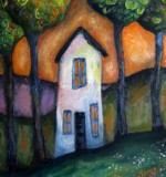 Tall Cottage & Trees Created By Jeremy Mayes Posted By Maher & Valentino