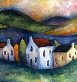 Townscape & Hills Created By Jeremy Mayes Posted By Maher & Valentino