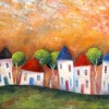 Tall Suburban Houses Created By Jeremy Mayes Posted By Maher & Valentino