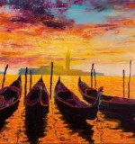 Venice Sundown Created By Raimondas Kucinas Posted By Maher & Valentino