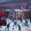 A Winter's Day in Stockport Created By James Downie Posted By Maher & Valentino
