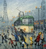 The Blackpool Tram Created By James Downie Posted By Maher & Valentino