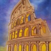 The Colosseum in Rome Created By Stefka Hristova Posted By Stefka Hristova