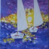 The two boats Created By Stefka Hristova Posted By Stefka Hristova