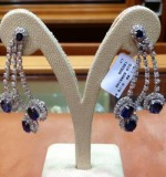 Sapphire Earrings Created By Paris Jewellery Posted By Paris Jewelry