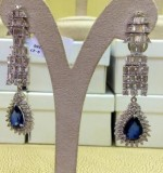 Sapphire Earrings Created By Paris Jewelry Posted By Paris Jewelry
