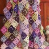 Floral fiesta Afghan Created By Nisreen Alamri Posted By nasa4000
