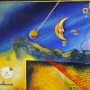 surreal art (oil on canvas) Created By  Posted By ABDEEN