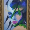 nature woman (oil on canvas) Created By  Posted By ABDEEN
